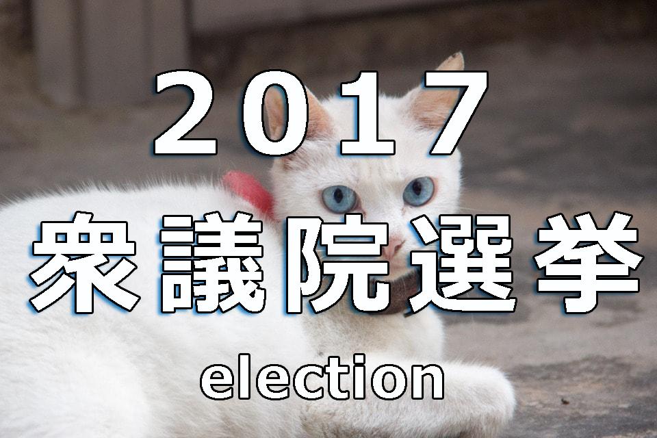 【衆議院選挙2017】情勢分析と最新の調査は?議席予想と結果予想も?