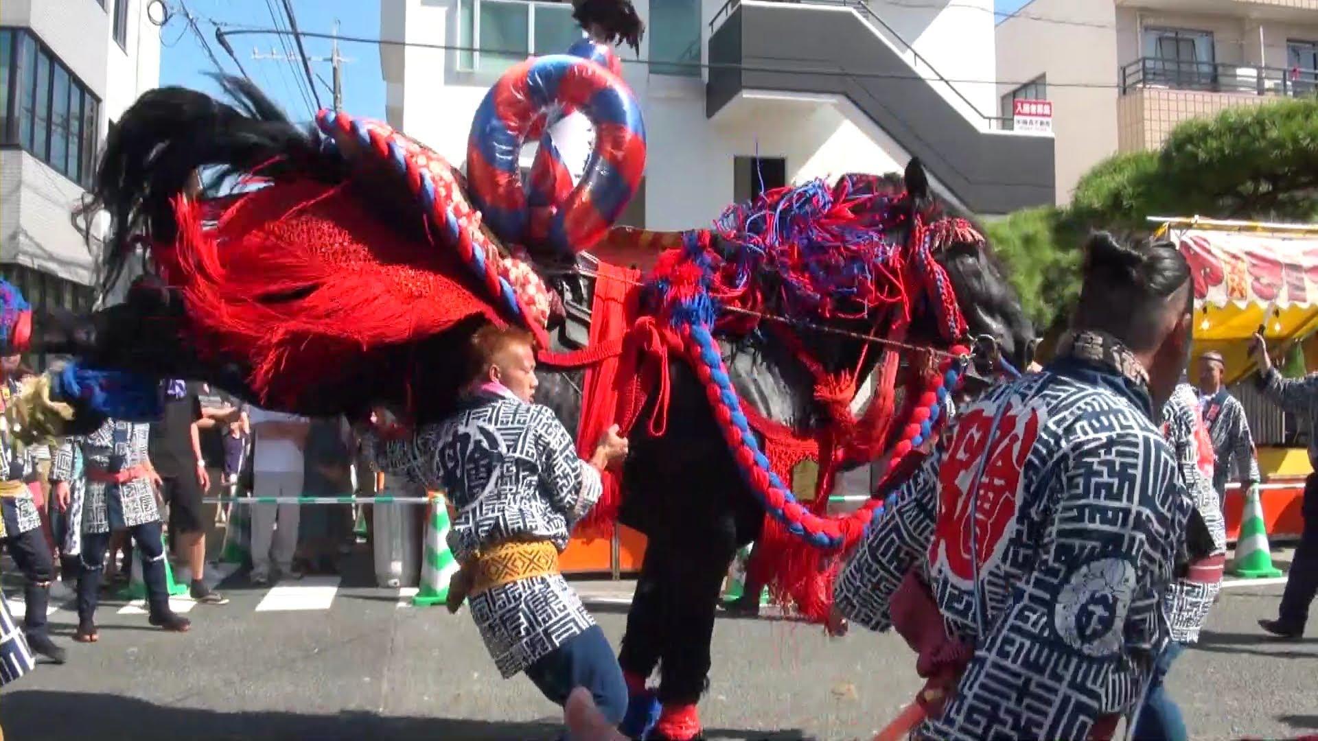 ぼした祭り【2018】熊本の例大祭の順番や交通規制の地図と時間は?