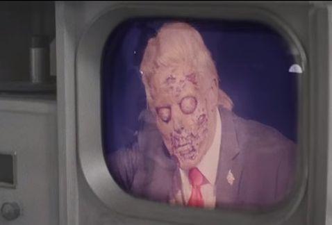 トランプ大統領がゾンビのグリーンデイPV?ゼイリブが元ネタの映画?