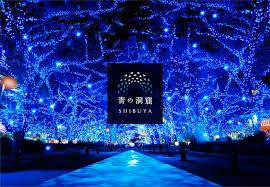 【青の洞窟】渋谷2017の行き方と場所や点灯期間と時間は?料金無料で混雑?