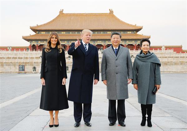 トランプが中国でのホテルや夕食は?ツイッターや米中会談の内容がヤバい?