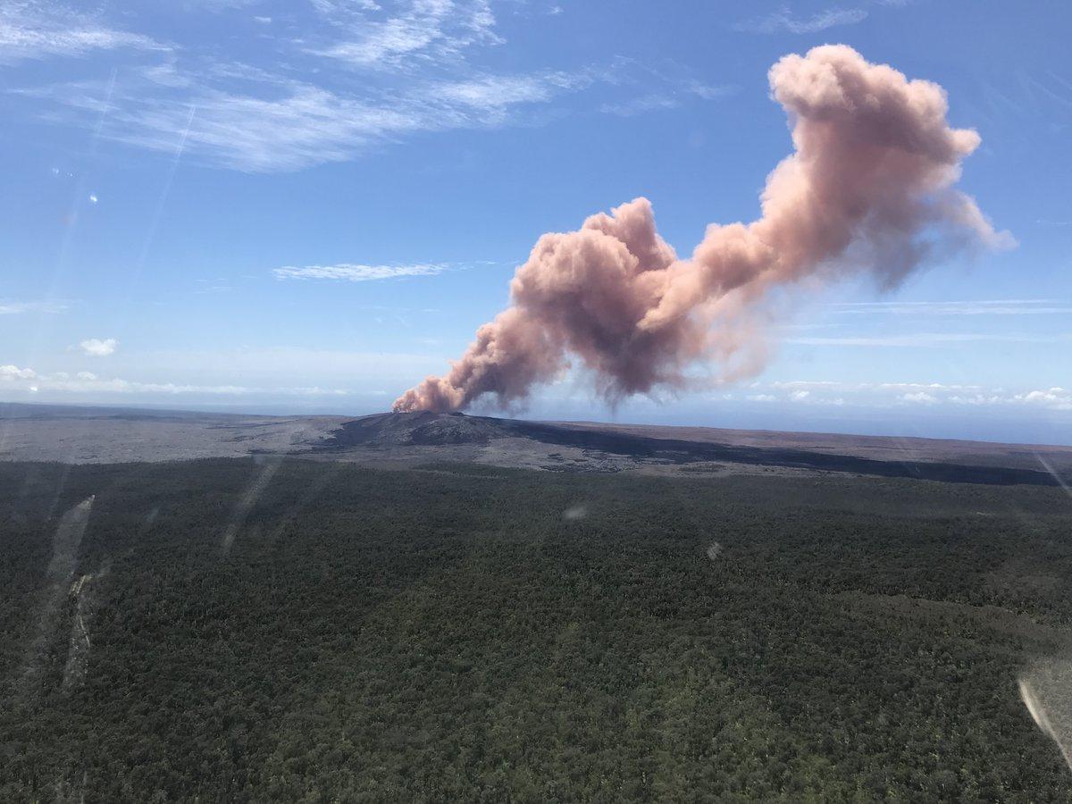 キラウエア火山の噴火の場所は地図でどこ?オワフ島の旅行やツアーと観光は?